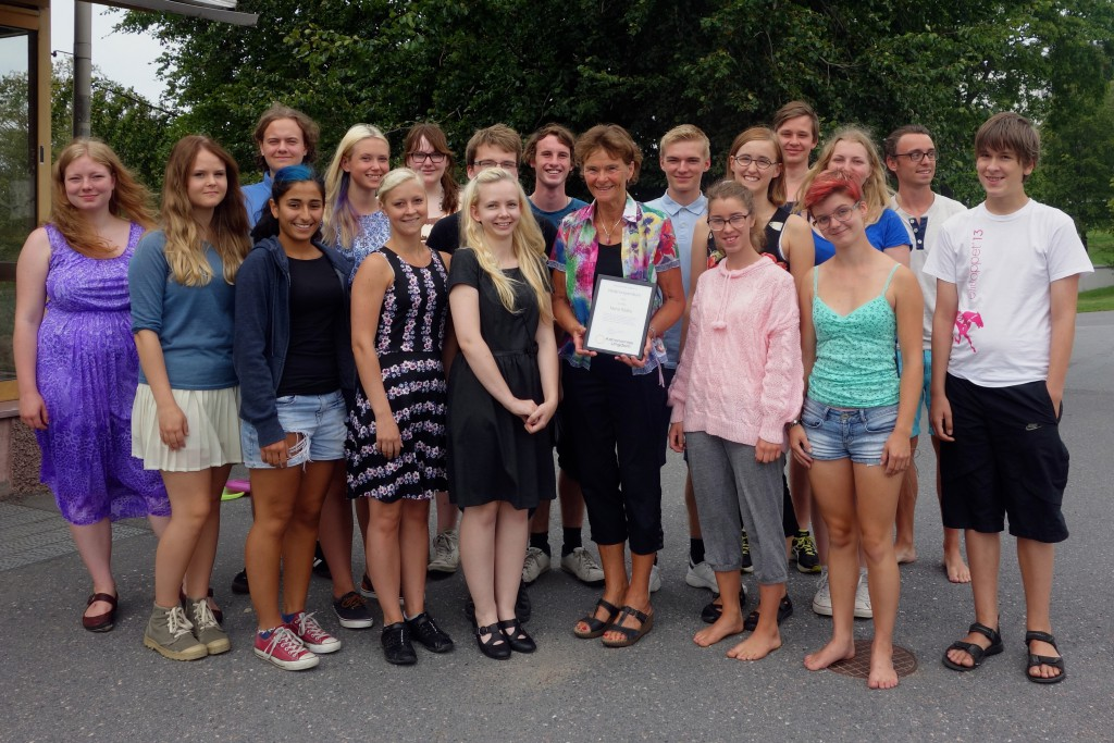 Marie Rådbo - Astronomisk Ungdom, stipendium