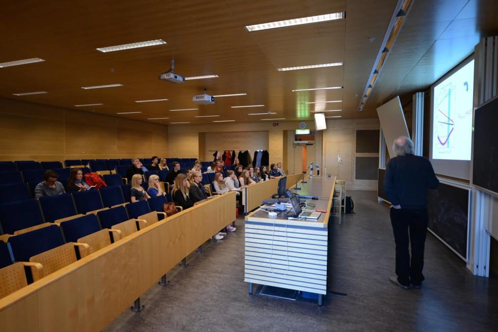 Föreläsning av Prof. Nils Bergvall