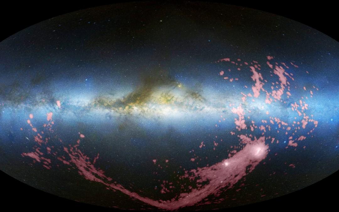 Stjärnbildning vid Vintergatans ytterkant