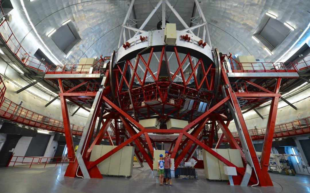 Besök på världens största optiska teleskop