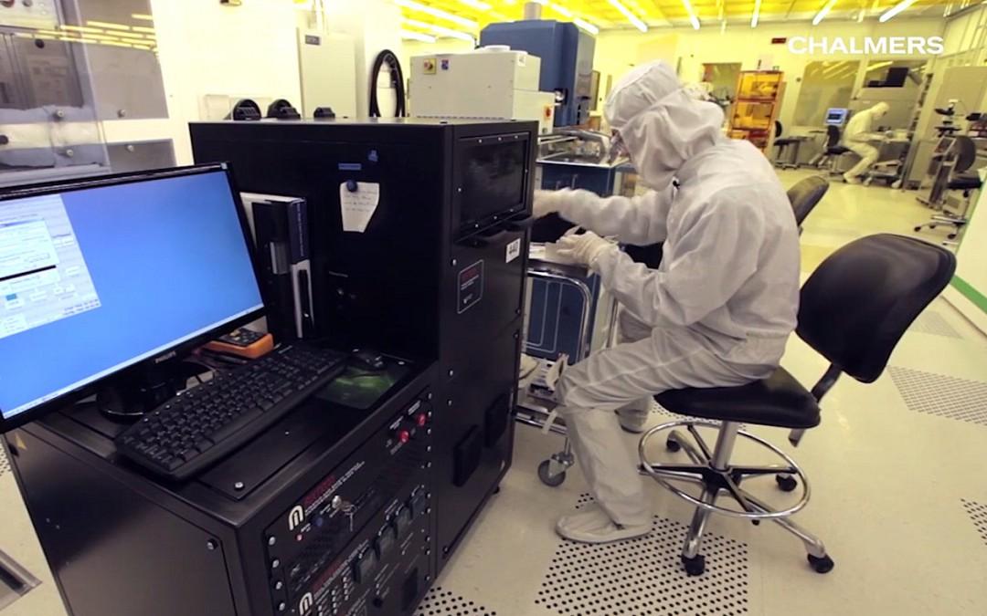 Studiebesök på Chalmers nanotekniklabb