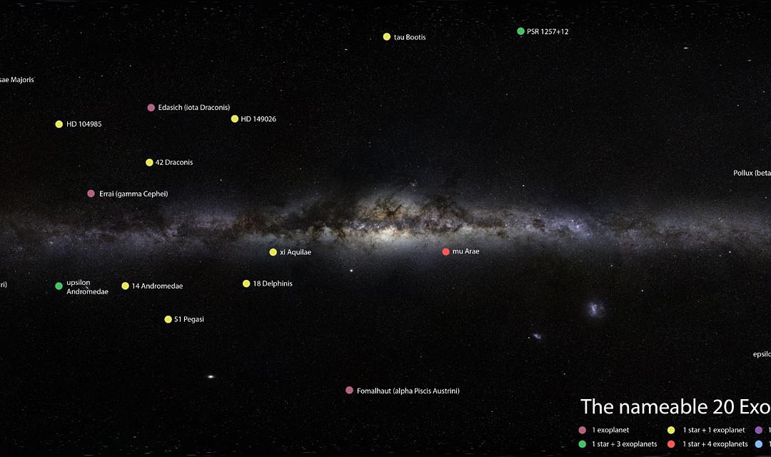 TÄVLING: Namnge en exoplanet