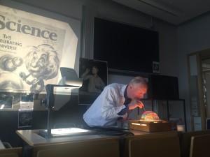 Föreläsning av Göran Rämme om sopbubblor