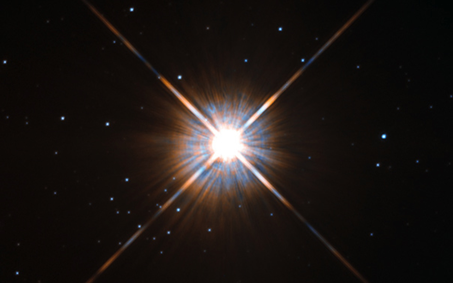 New shot of Proxima Centauri, our nearest neighbour
