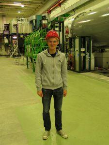 Besök vid den underjordiska detektorn på NA62.
