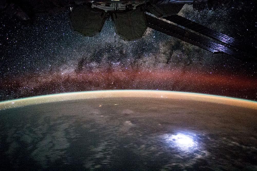 Skulle du vilja se jorden från ISS?