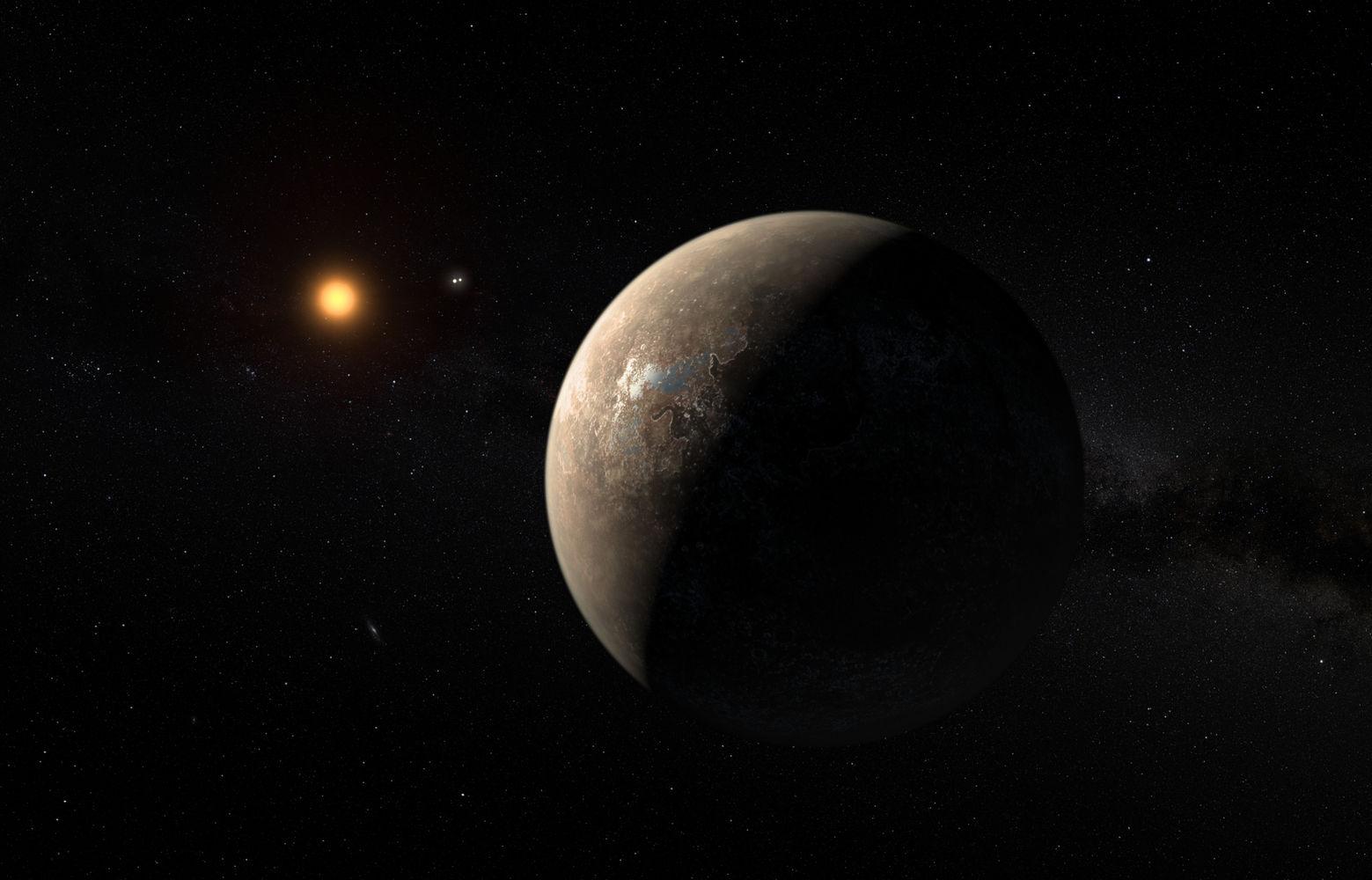 NASA: Proxima Centauri b är antagligen…