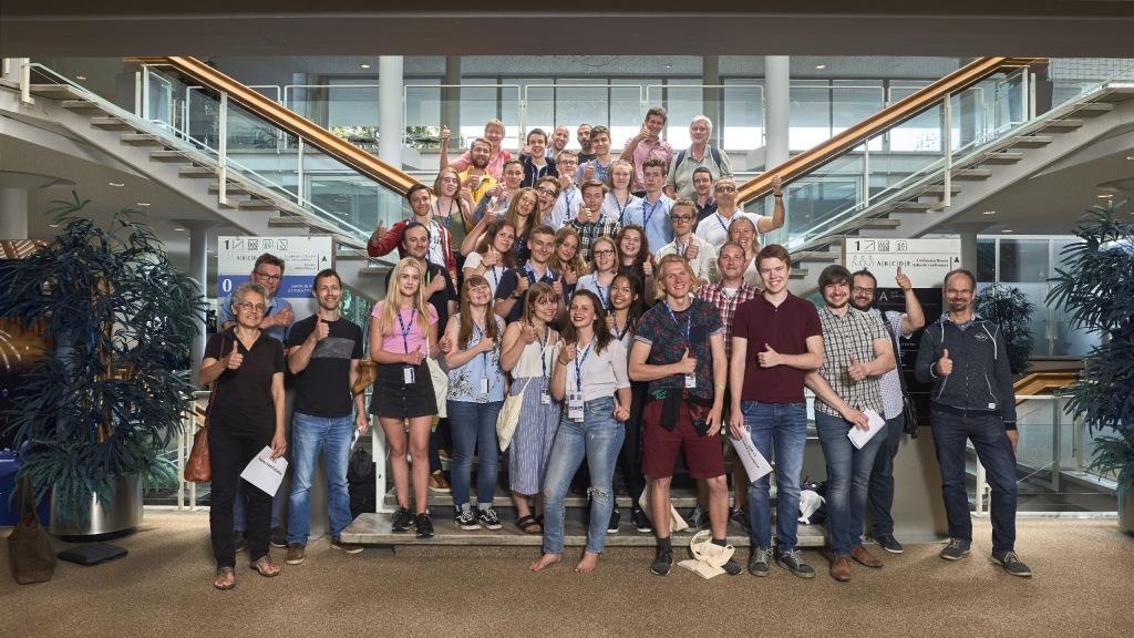 Gruppfoto med deltagarna i HSSIP 2018