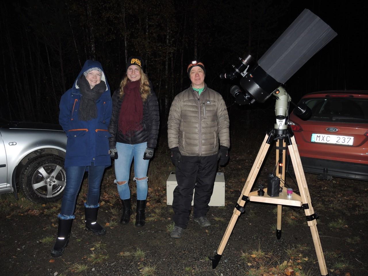 Teleskopskväll
