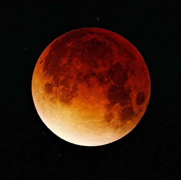 Vad är en superblodmåne?